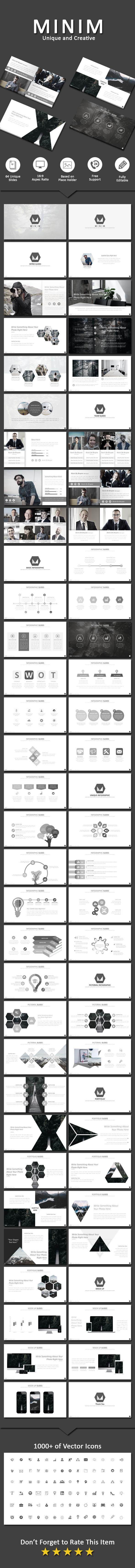 Minim - Business PowerPoint Templates