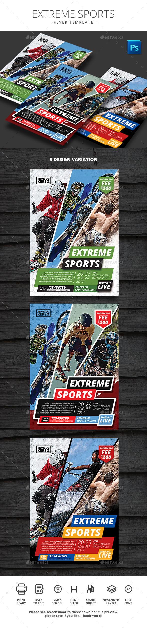 Extreme Sports - Sports Events