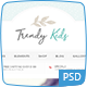 Trendy Kids Photoshop - ThemeForest Item for Sale