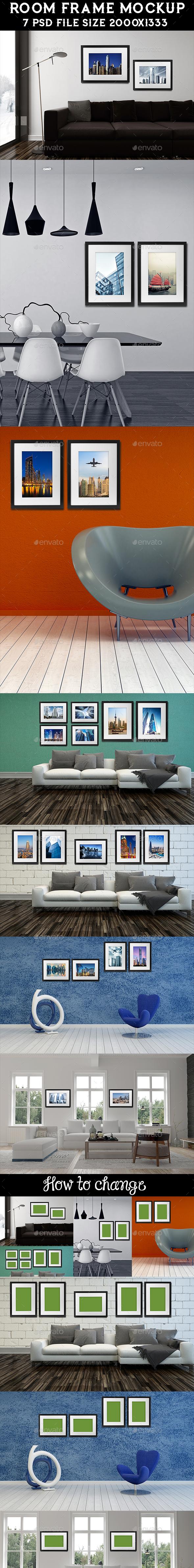 Frame Mockup - Posters Print