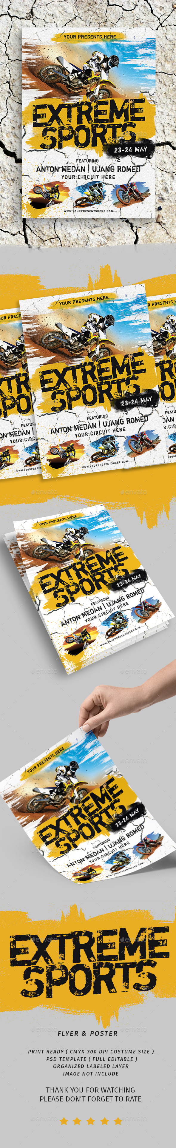 Extreme Sports Flyer - Sports Events