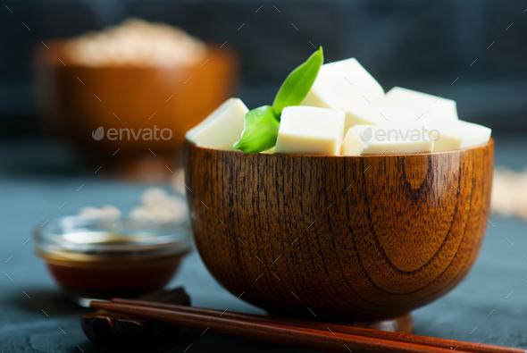 tofu cheese - Stock Photo - Images