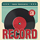 Retro Vinyl Music Flyer - GraphicRiver Item for Sale
