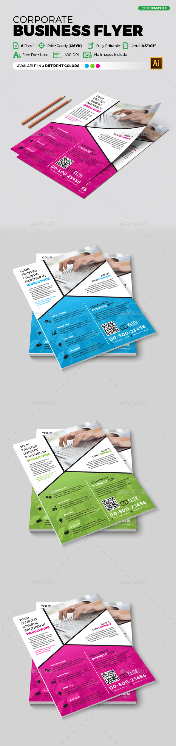 Flyer – Multipurpose 308 - Corporate Flyers