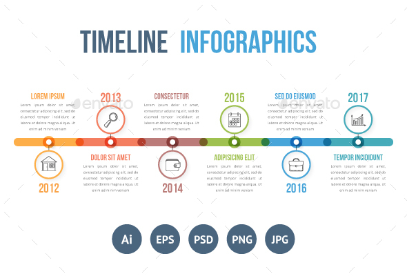 Timeline Infographics - Infographics