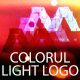 Colorful Light Logo Reveal - VideoHive Item for Sale
