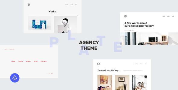 Plate – Creative Agency Theme