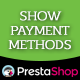 Show Payment Methods - CodeCanyon Item for Sale