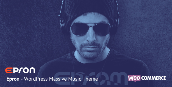 Epron - WordPress Massive Music Theme