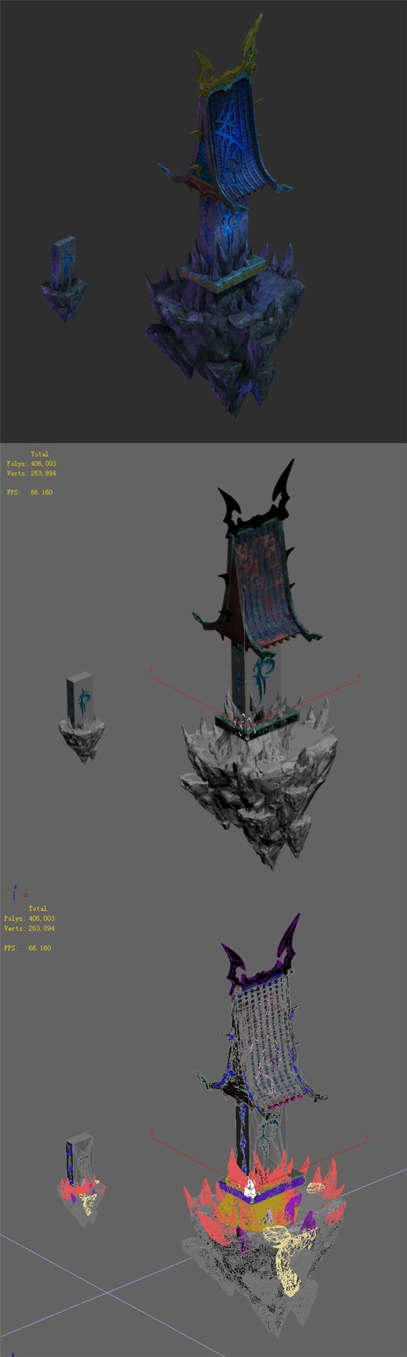 Magic territory - small house - 3DOcean Item for Sale