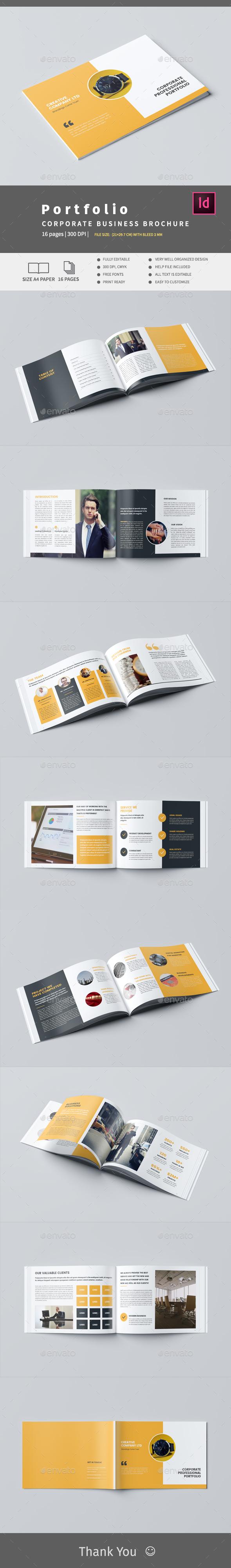 Creative Company Profile - Brochures Print Templates