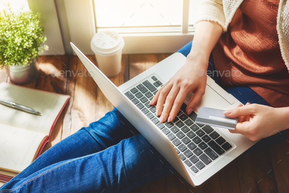 Online shopping concept. - Stock Photo - Images