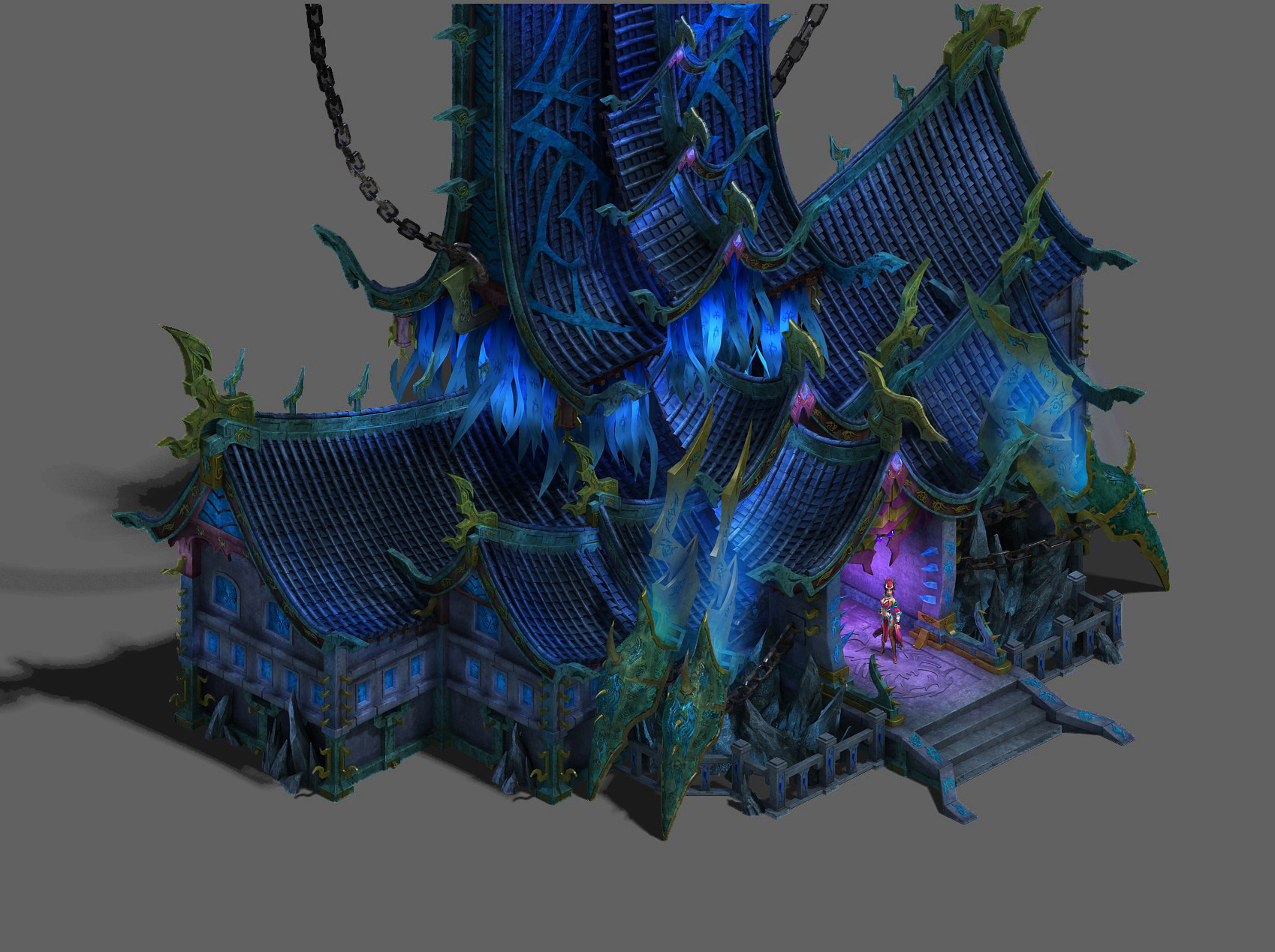 Magic territory - the main hall