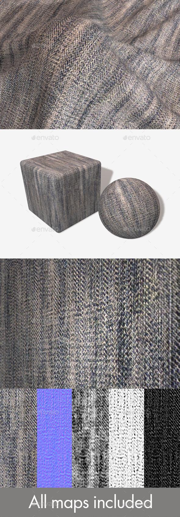 Worn Denim Seamless Texture - 3DOcean Item for Sale