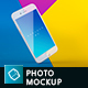Phone Mock-up Brending Templates with Colorful and Clean Backgrounds Vol.2 - GraphicRiver Item for Sale
