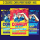 Comedy Jam Open Mic Template - GraphicRiver Item for Sale