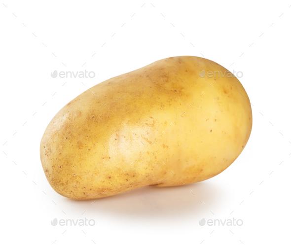 Fresh raw potatoes - Stock Photo - Images