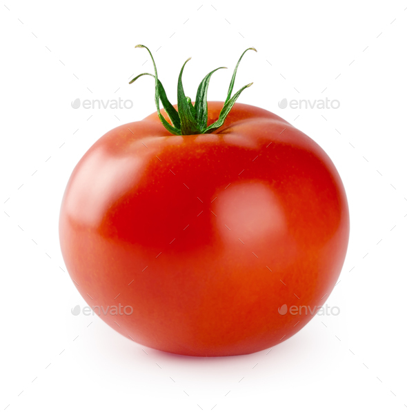 Red ripe tomato - Stock Photo - Images