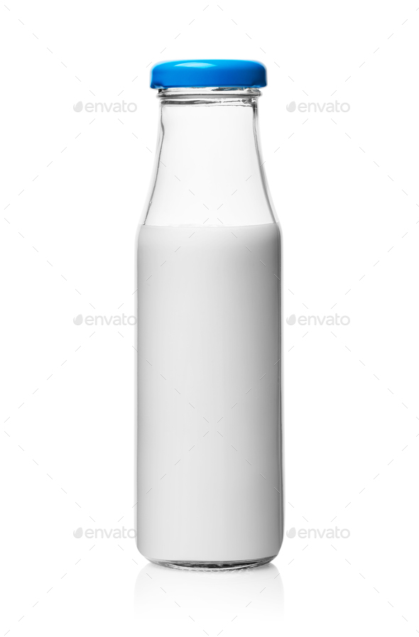 Bottle of milk - Stock Photo - Images