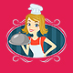 Girl Cook - Mix & Match Series - GraphicRiver Item for Sale