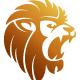 Strong Lion King Logo