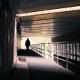 Man Walking Under Highway Bridge - VideoHive Item for Sale