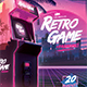 Retro Gaming Flyer II - Classic Gaming Template Poster - GraphicRiver Item for Sale