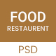 Food - Restaurant PSD Template - ThemeForest Item for Sale