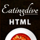 Eatingdive - Restaurant HTML Template - ThemeForest Item for Sale