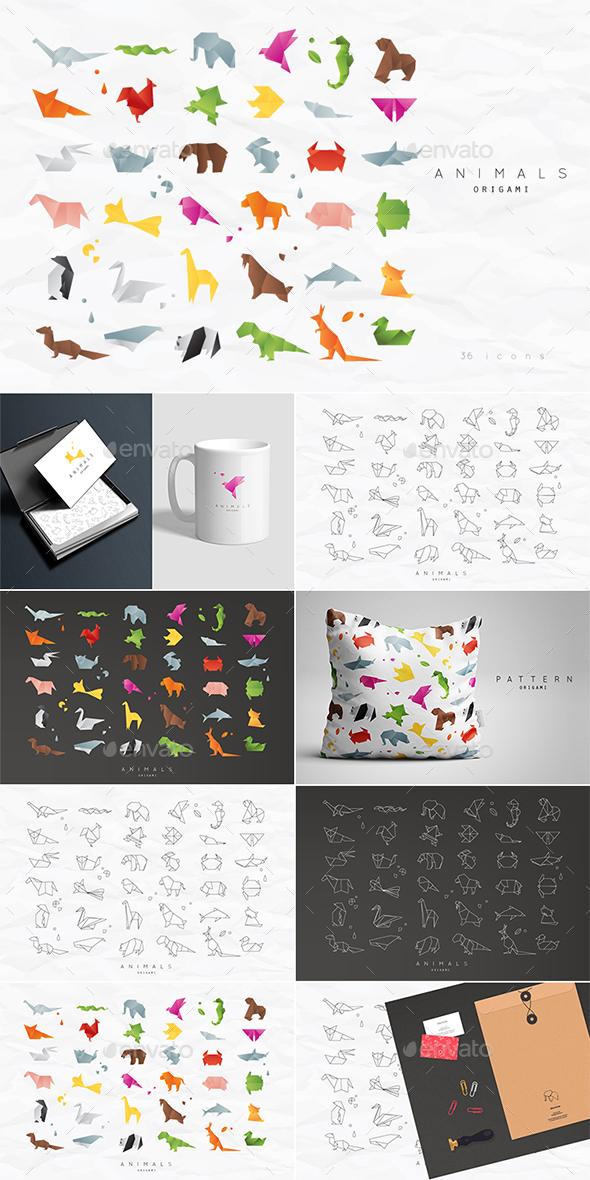 Animals Origami - Animals Characters