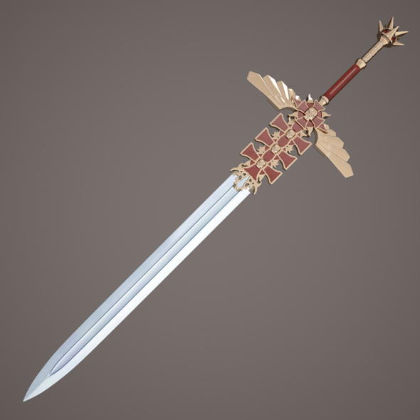Fantasy sword - 3DOcean Item for Sale
