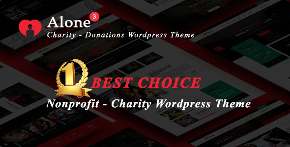 Alone – Charity Multipurpose Non-profit WordPress Theme - Charity Nonprofit