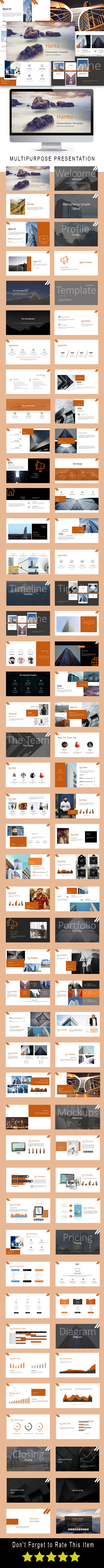Hantu Multipurpose Powerpoint Template - PowerPoint Templates Presentation Templates