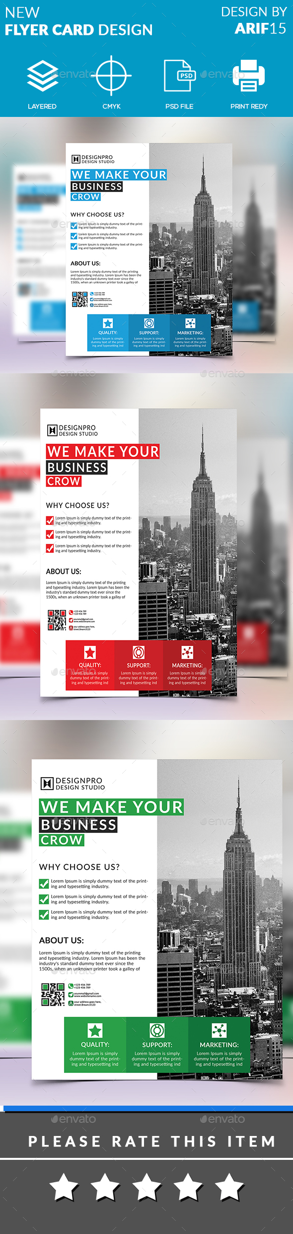 New Flyer - Flyers Print Templates
