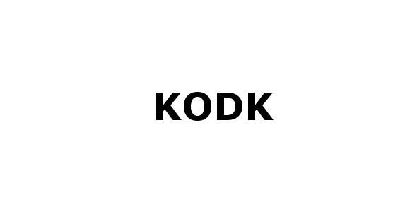 KODK – One page resposive Portfolio