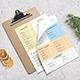 Simple Restaurant Menu - GraphicRiver Item for Sale