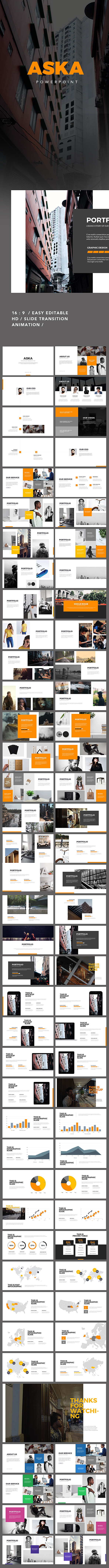 Aska Powerpoint Presentation - Creative PowerPoint Templates
