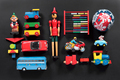 Colorful collection of cute vintage toys - PhotoDune Item for Sale