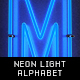 Neon Light Alphabet - GraphicRiver Item for Sale