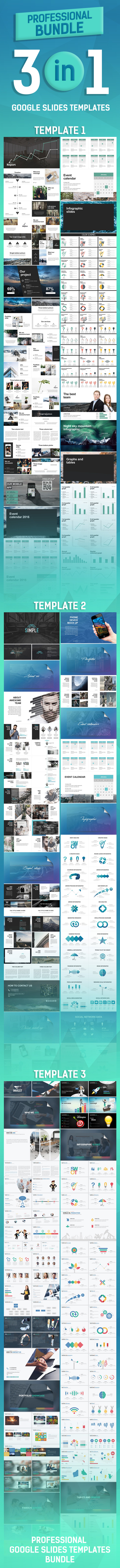 Professional Bundle - Google Slides Presentation Templates