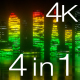 Neon City Equalizer Pack - VideoHive Item for Sale