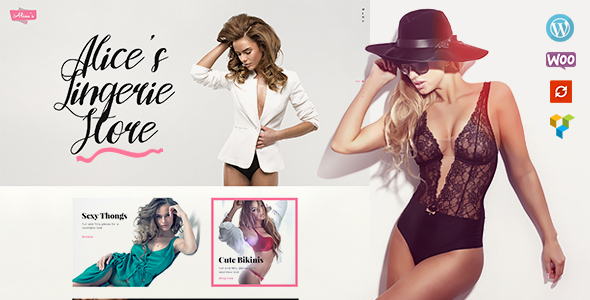 Alice's | Lingerie Store and Fashion Boutique - WooCommerce eCommerce