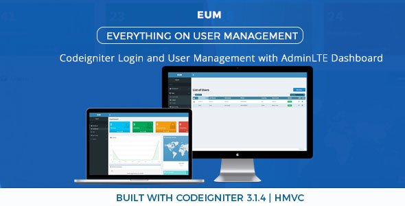 PHP Login and User Management with Codeigniter - HMVC - CodeCanyon Item for Sale