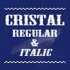 Cristal Typeface - GraphicRiver Item for Sale