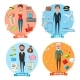 Pilot and Manager, Jeweler and Seller - GraphicRiver Item for Sale