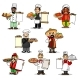 Chefs Vector Icons and Restaurant Menu - GraphicRiver Item for Sale