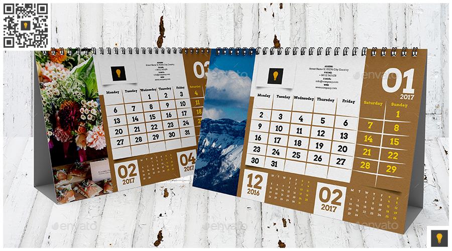 Desktop Calendar Design Samples : Desktop calendar template by shockydesign graphicriver