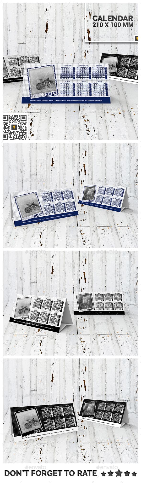 2016 Desktop Calendar - Calendars Stationery