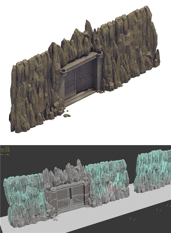 Mountain - Shimen - 3DOcean Item for Sale