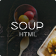 Soup - Restaurant with Online Ordering System Template - ThemeForest Item for Sale